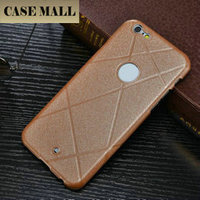 CaseMall Silk PU leather flip cover case for iphone 6, slik leather back cover for iphone 6
