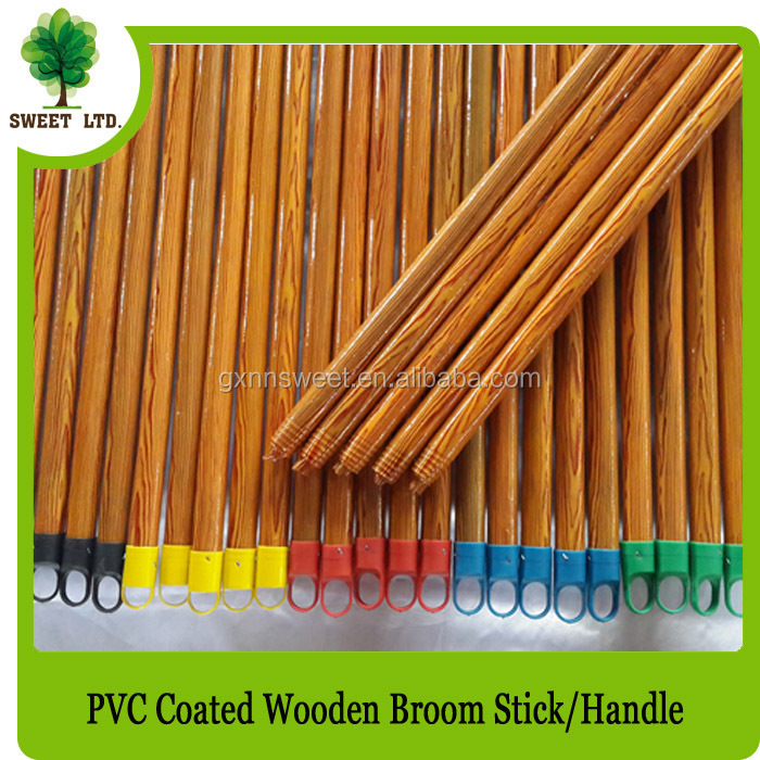 Nanning Manufacturing Eucalyptus Material Wooden Handle for Brooms