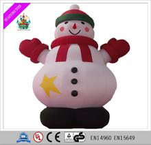 Adorable inflatable Santa Claus inflatable snowman/tree/entrance snow arch for Christmas festival decoration