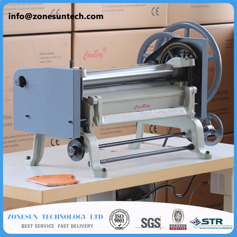 8020 automatic Leather paring machine,leather skiver/peel tools,vegetable tanned electric leather splitter max 50cm width