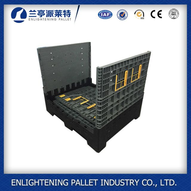 High quality pallet rack large plastic storage containers