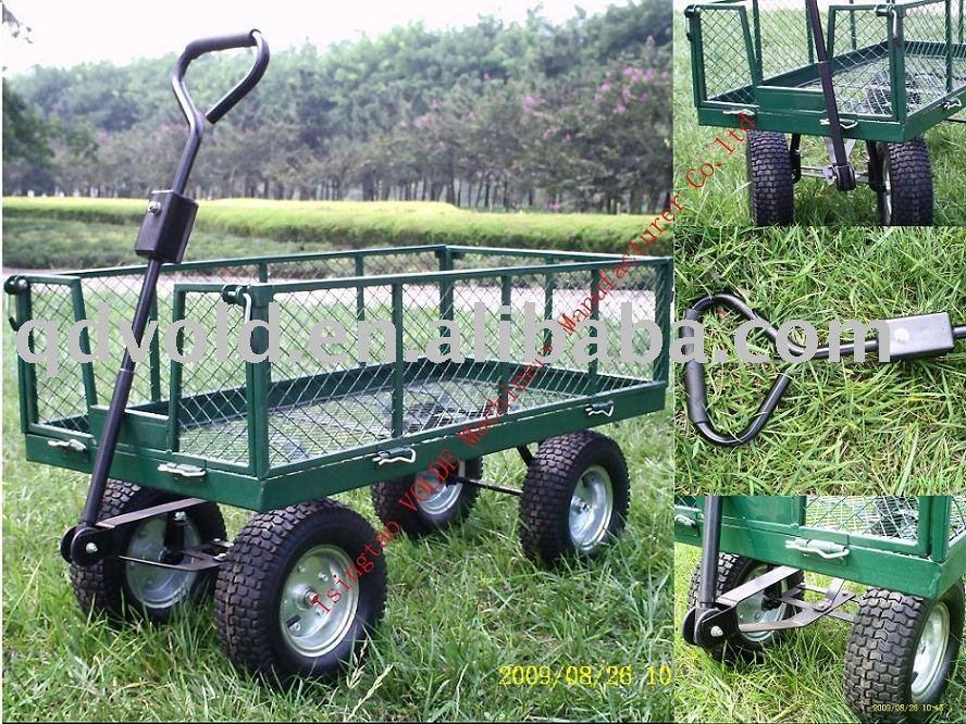 Plan pour fabriquer un chariot de jardin blog de for Remorque de jardin 4 roues