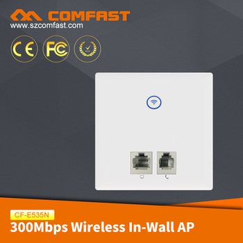 COMFAST CF-E535N Powerful Remote Wifi Transceiver 300mbps Wifi In Wall AP POE