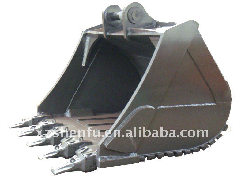 70Texcavator rock bucket with 5CBM made in china