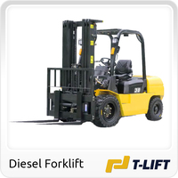 3.5 ton forklift truck with 6m lifting height