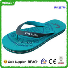 Wholesale Embossed Logo Cheap Rubber Custom Printing Flip Flop