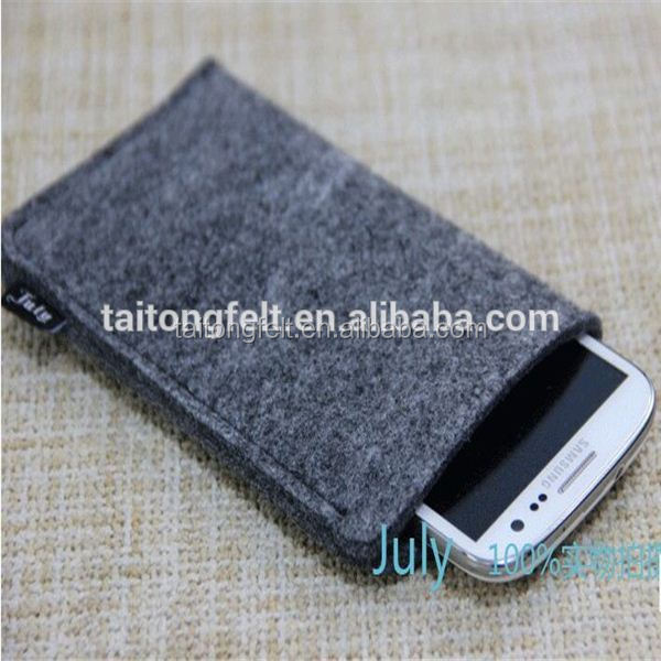 Hot new products Wool felt cell-phone case