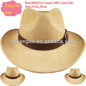 customized casual camel sombrero hats for men