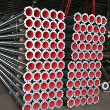 Center pivot poly lining pipe