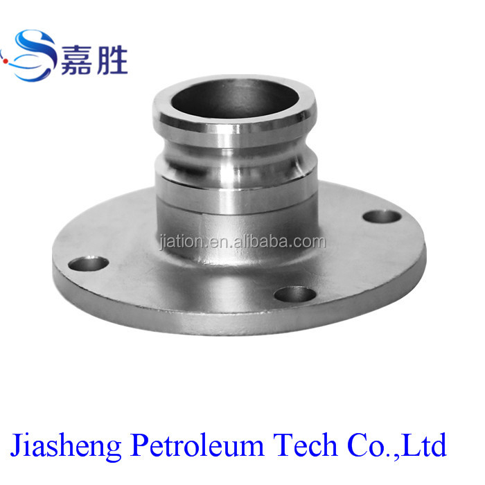 Stainless Steel Camlock Quick Coupler Round Falnge Type with Male
