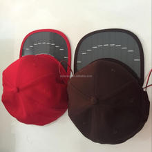 2017 New Products Solar <strong>hat</strong>, mobile phone charger