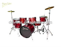 Quality 7 pcs PVC Drum Set JZG-D22-7 cColor