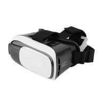Head Mount Plastic VR 3d BOX Virtual Reality Glasses For 3D Game Movie