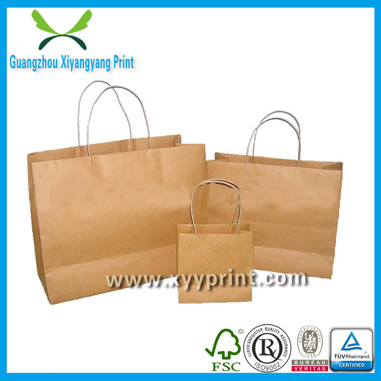 Eco Friendly Custom Printed Paper Lunch Bag Wholesale