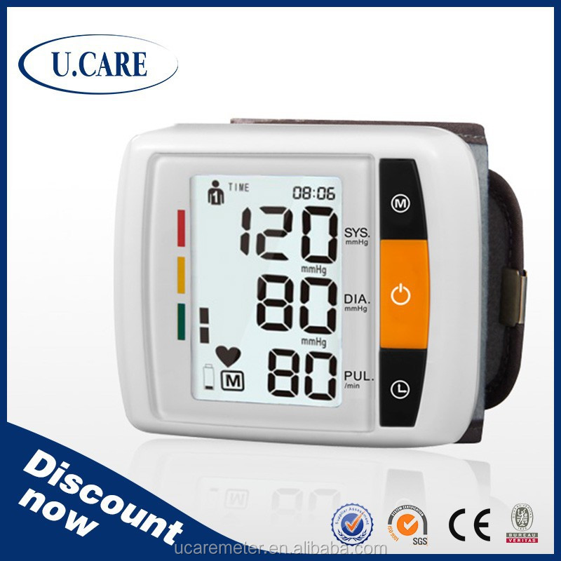 High accuracy Data/time setting automatic 2 Years Warranty CE approved blood pressure test machine