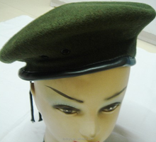 Wool irish summer winter male military brown berets