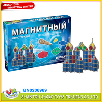 2015 educational block toys magnetic building shapes toy