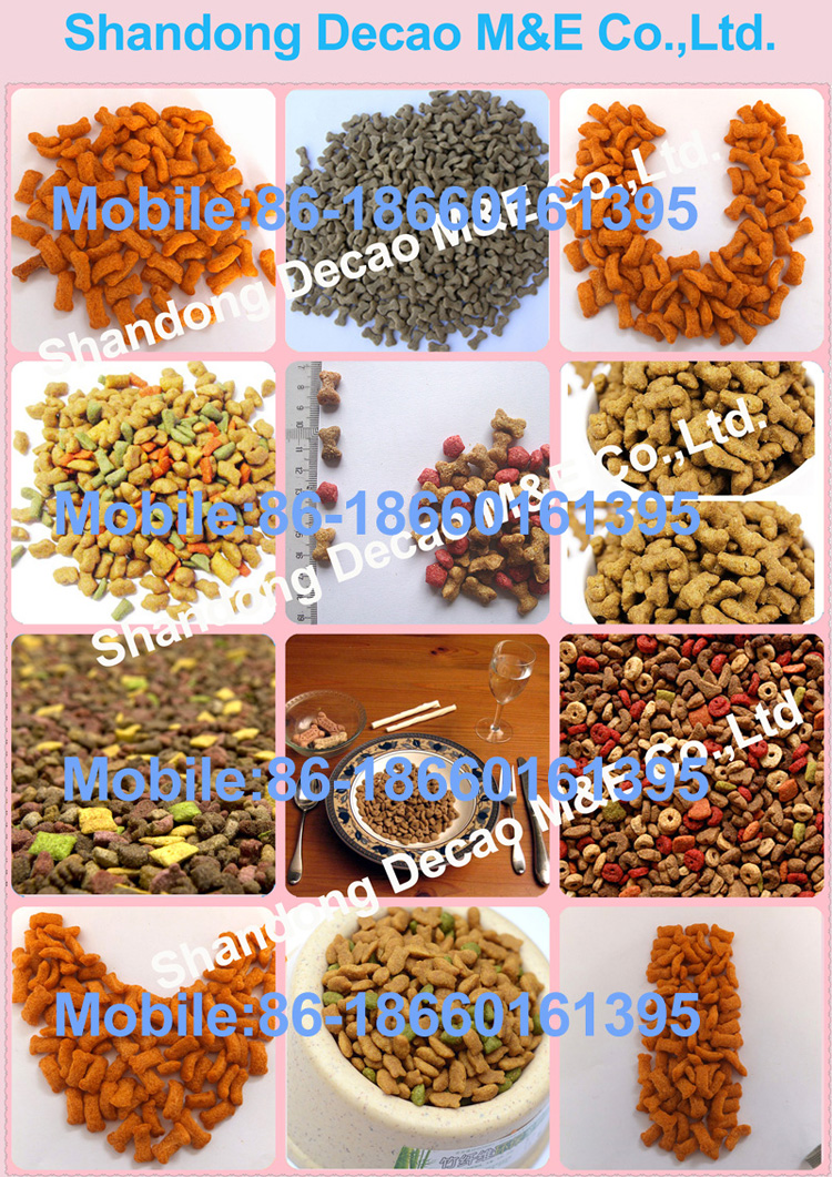 100kg/h capacity dog food chewing gum making machine