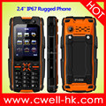 2.4 Inch Dual SIM IP67 Waterproof UNIWA L28 Basic Feature Rugged Phone