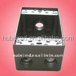 ul listed junction box with 2 inch depth, four holes, Aluminum,Electrical Manufacturer