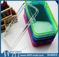 Cellphone Accessory Soft TPU Transparent Case for iPhone 5 5S