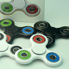Factory fast delivery anti stress hand spinner toy 608 hybrid Ceramic Bearing anti anxiety desk toy tri spinner fidget spinner