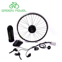 Greenpedel top quality CE certificate Europe standard 36v 250w electric bike conversion kit with battery