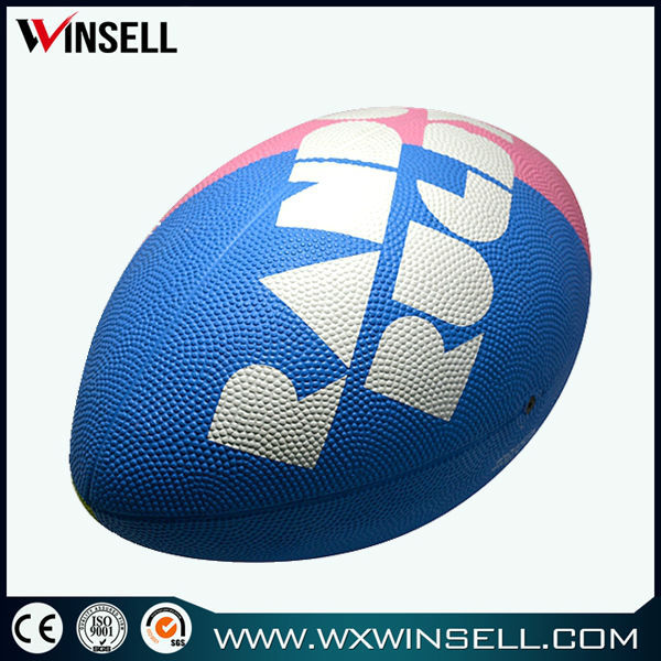 High quality durable rubber rugby ball /football