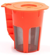Plastic refillalbe K cup single serve filter for ground coffee compatible with Keurig 2.0 machine