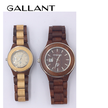 analog wooden watch custom dial face