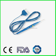 Disposable Diathermy pencil electrosurgical pencil hand switch pencil