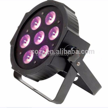 Hot and Most Popular CE and RoHs Alibaba Trade Assurance Chinese Supplier 7pcs Led flat Par Light Led Wash Par Light