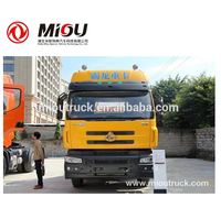 chinese dongfeng brand 6x2 LZ4240M5CB 375hp EURO 5 cheap lng tractor head truck