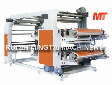 Factory price MT-4800 series flexo printing machine 4 color with pp woven print