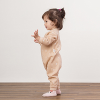 Lovely Cotton Soft Formal Baby Sleep Wear Frock Clothes