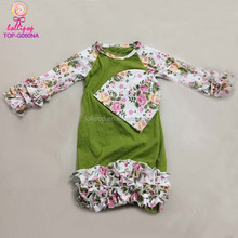 Latest baby names jumper Wholesale Baby Clothes pajamas gown Children Long Sleeve Kid sleepsack winter Gowns set