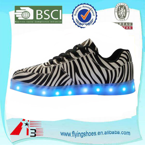 adult led light flashing shoes for party