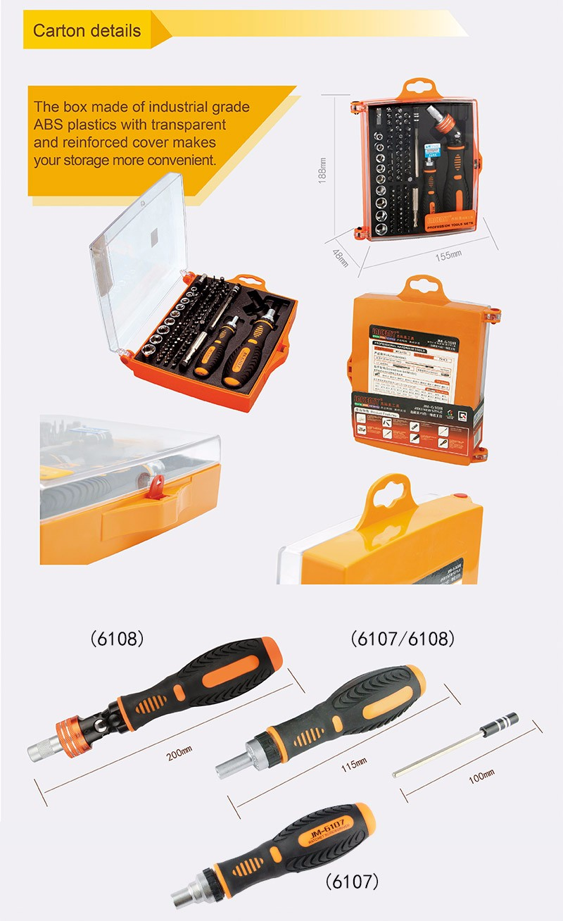 New arrival 79 pcs in one the king tool kit sets with screwdriver and Connector