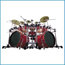 12-pc drum set birch shell , professional drum kit , 12pcs drum set for stage
