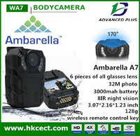 Portable body worn spy DVR camera with cheapest price and good quality police body worn camera