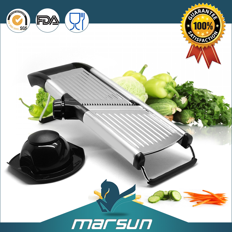 OEM made in china alibaba famous manual multi vegetable slicer stainless steel mandolin slicer