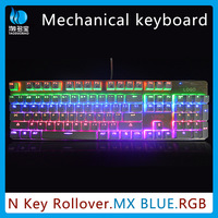 Mechanical Keyboard gaming_Colorful Led Illuminated Ergonomic Switch RGB Gaming Keyboard