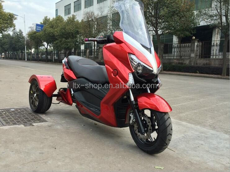 New Arrival 3 Wheel Electric ATV Motorcycle 60V 1000W 14inch Cool Electric Dirt Bike