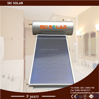 200l integrated non-pressurized stainless steel/galvanized plate solar water heater