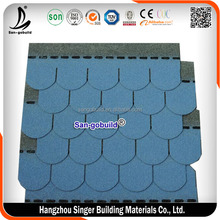 Malaysia Asphalt Shingles Fish Scale Price for Sale, Building Material Red Cheap Asphalt Shingles