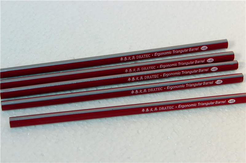 High Quality Custom Logo Striped Color dipped Wooden HB Pencils In Bulk,Drawing Pencils .SKetch Pencils