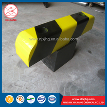 Durable parking lot plastic HDPE rubber wheel stopper car stopper HDPE custom accessories