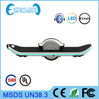 one wheel balance scooter Electric Scooter electric skateboard with LED Light