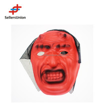 No.1 yiwu commission agent wanted red color Halloween mask