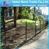 Metal customized portable dog fence